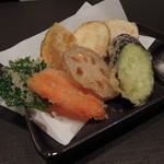 松 - 厳選野菜を使った野菜天ぷら