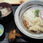 16076137 - 日替りうどん+かやくご飯(680円)