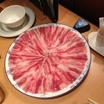 天香回味 - 薬膳火鍋 豚肉