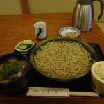 手打ち蕎麦や さ和味 - つけ鴨せいろ、2012/11下旬(再訪2)