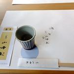 小来川 山帰来 - はじめに供された蕎麦湯