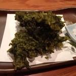 16084744 - 四万十海苔の天ぷら