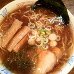 湯鬼神 - 二段仕込み醤油らーめん ¥650