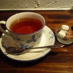 日和cafe - ダージリン430円