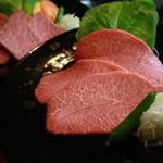 炭火焼肉 ソウル - 料理写真:みすじ、濃厚な味わいが楽しめる腕の希少部位。