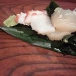 山田寿司 - 2112.11.28  蛸、貝柱アップ