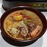 門仲富士 - 胡麻すりちゃんこ鍋