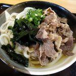 あづま - 肉うどん1玉