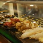 魚串さくらさく - 築地から仕入れた新鮮なお魚をご用意