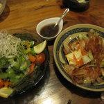 1609260 - 島野菜のサラダとフーチャンプルー