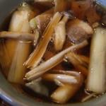 手打ち蕎麦 やま庵 - 鴨汁(アップ)