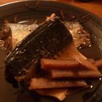 お食事処 いづみ - 鯖の醤油煮
