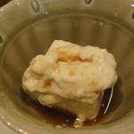 16092979 - 付き出し・・・湯葉豆腐