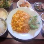 16094963 - 海老チリ定食