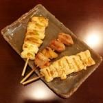 Shigaya - 串焼き(塩)