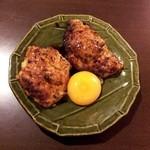Shigaya - つくね(卵黄)