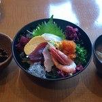 海門 - 海の幸丼