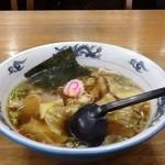 光楽 - ワンタン麺550円です。