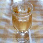 洋食厨房 KAJIMOTO - スープセットのドリンクのジンジャエール