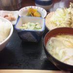 瑞穂 - 小いわしの天ぷら定食 小鉢などもおいしい