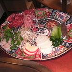 161312 - 鉄板焼きの皿