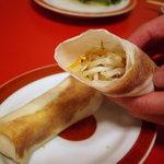 山珍居 - 潤餅(台湾式季節野菜の春巻き)