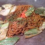 杏樹 - 料理写真:Wセット(焼きそば+豚お好み焼き) 980円