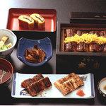うなぎの大東 - 料理写真:『柳川』に来るなら、ヤッパ『鰻』デショ☆しかもッ、多数バリエーションで食べたいっっ!!!