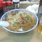 屋台風ラーメン葛西 - 料理写真:野菜ラーメン(みそ)