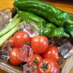 松 - 厳選野菜をご用意しております