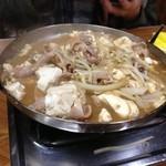 16101881 - 豚もつ鍋(豆腐は別追加)