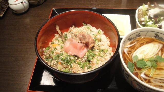 鴨亭 - 鴨の炊き込みご飯