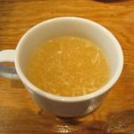 ステーキハウス けん - 玉子スープ