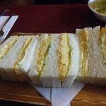 喫茶アン - 絶品玉子サンドイッチ
