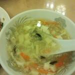 16103551 - スープ美味しい