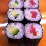 きん寿司 - かっぱ・鉄火巻
