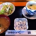 きん寿司 - ランチ寿司のセット