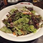 炭火焼肉香味苑 - 野菜サラダ780円