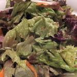 炭火焼肉香味苑 - 野菜サラダアップ