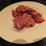 炭火焼肉香味苑 - 塩ハラミ1050円