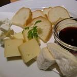 北の味紀行と地酒 北海道 - チーズ3種盛合せ