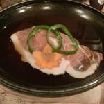 稲田屋 - 豚の陶板焼き