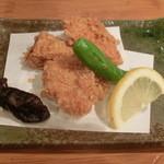 稲田屋 - ハーブ鶏の落葉揚げ