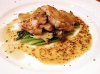ビストロ K - 鹿児島県産 さつま純然鶏のグリル マスタードソース
