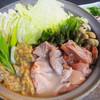 神戸つくねや谷町7丁目劇場 - 料理写真:当店自慢の鶏ちゃんこ・特製つくね鍋! ウマ辛のチゲにも出来ます!