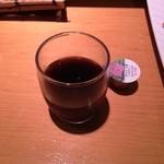 朝日寿司 総本店 - デザートのコーヒーゼリー