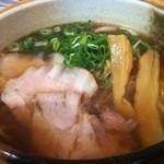さくら食堂 - 尾道ラーメン 600円