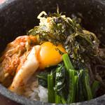 焼肉 いけや - 【石焼ビビンバ】 韓国料理の〆の定番 924円