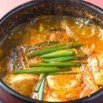 焼肉 いけや - 【スンドゥブチゲ】 韓国料理も充実!! 924円