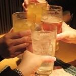 魚金 2号店 - 乾杯♪
